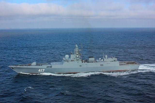 Фрегат проекта 22350 типа «Адмирал Горшков».