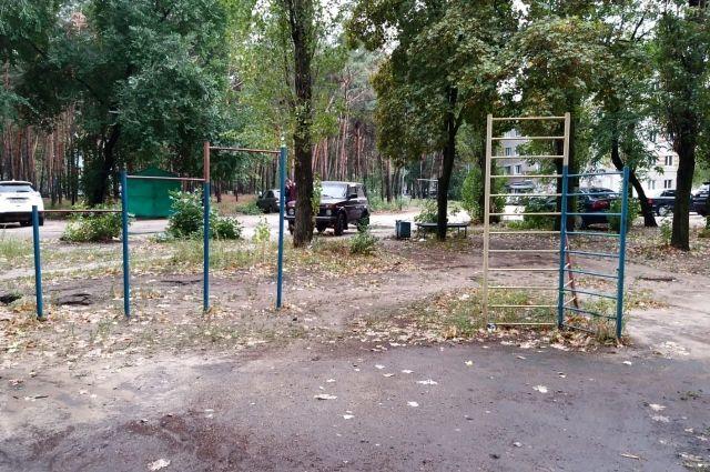 Попавшая в рейтинг ОНФ площадка на улице Олеко Дундича.