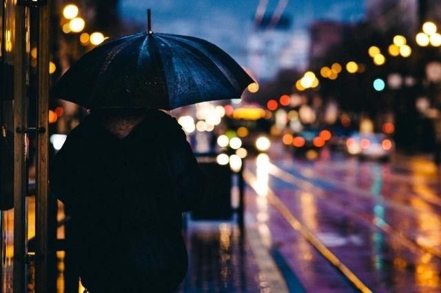 По области ожидается дождь и усиление ветра