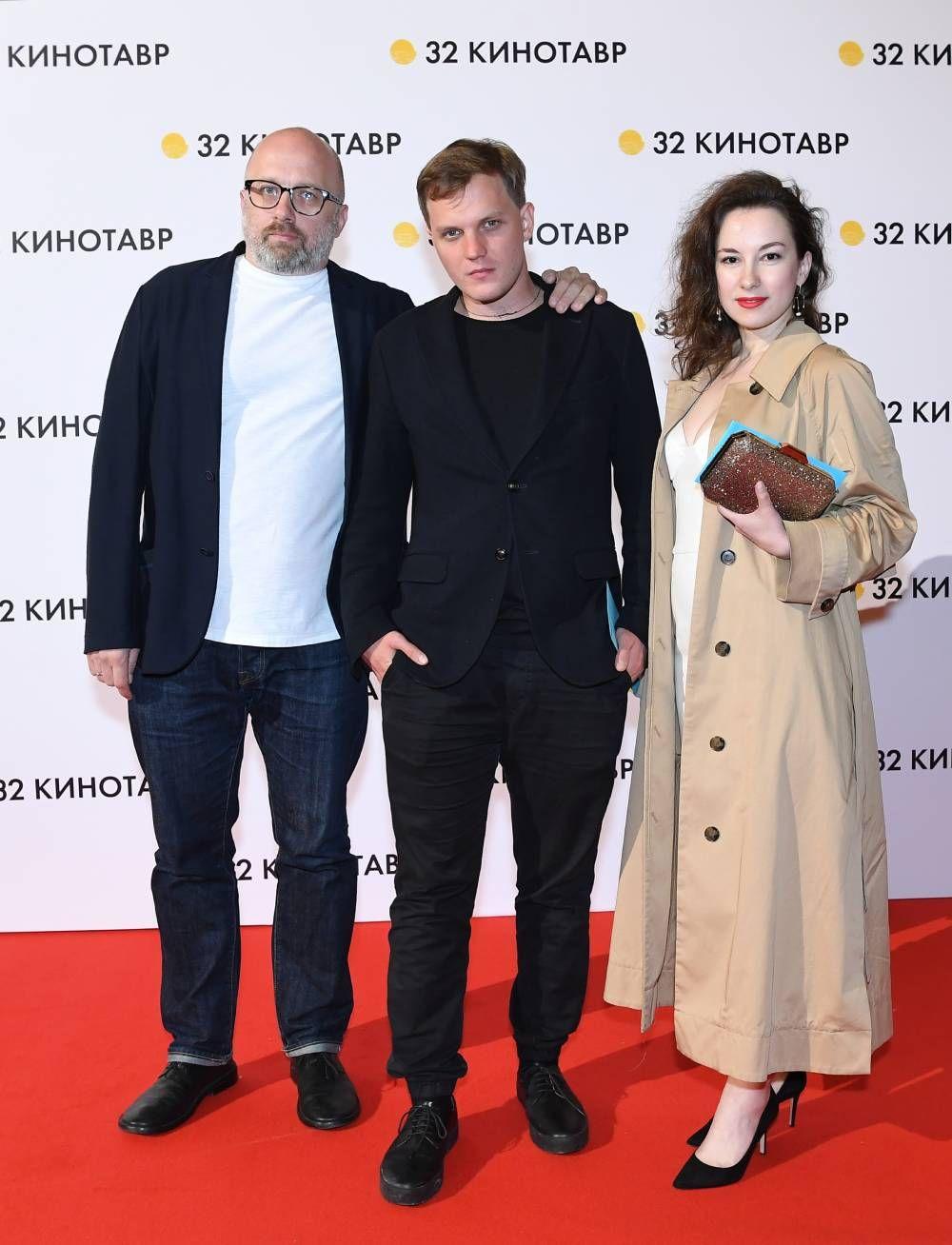 Продюсер Артем Васильев и актер Геннадий Вырыпаев (справа).