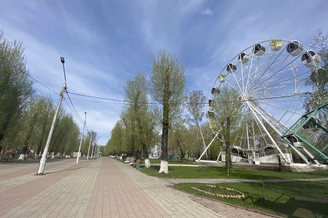 Обновления коснулись и городского парка.