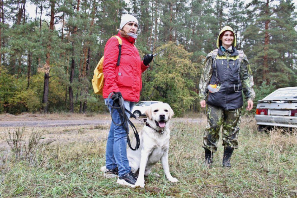Кинолог Марина Чекрыгина и добрая собака Каспер