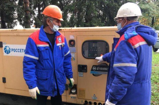 Энергетики установили дизельный генератор для ковид-госпиталя в Нальчике