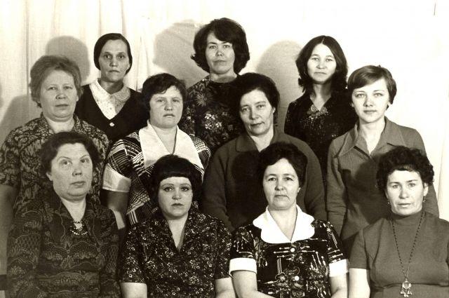 Сытоминские воспитатели 50-х, 70-х годов