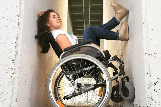 Инесса начала ходить только в 25 лет.