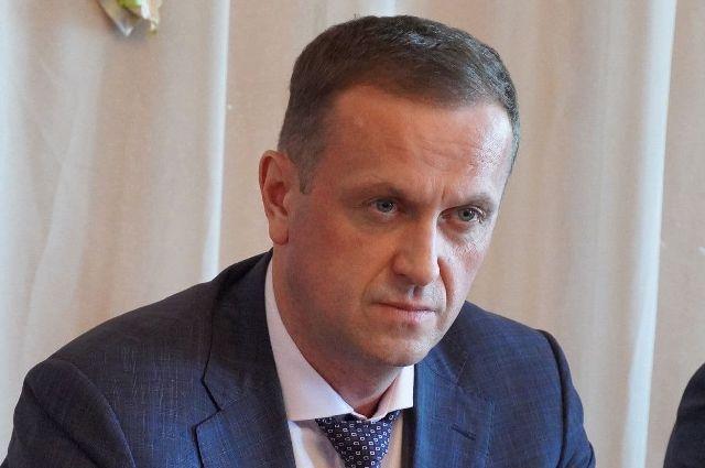 Мэр Оренбурга Владимир Ильиных после долгого отсутствия посетил городскую администрацию