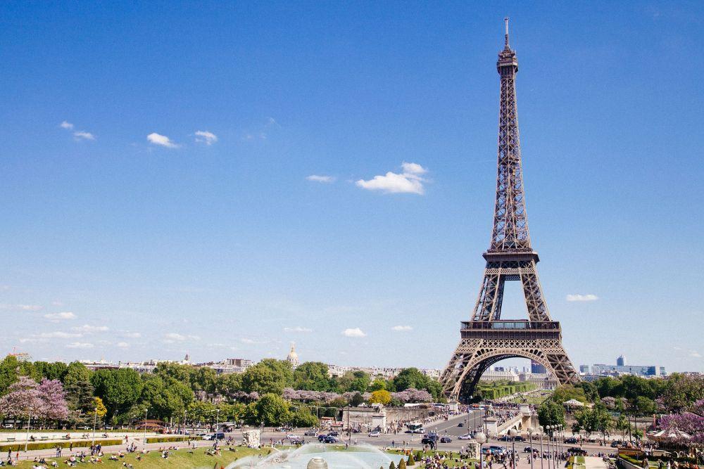 2 место — Париж