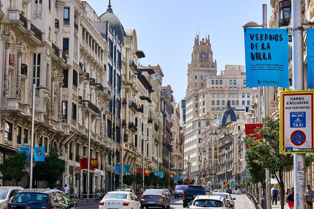 10 место — Мадрид