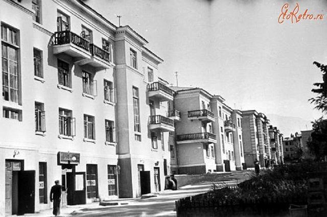 Жилкомбинат № 2 в 1950-е годы