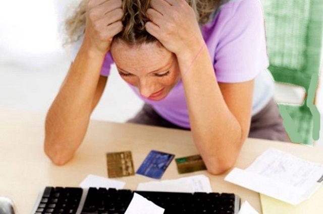 Долги по кредитным картам могут нарастать как снежный ком