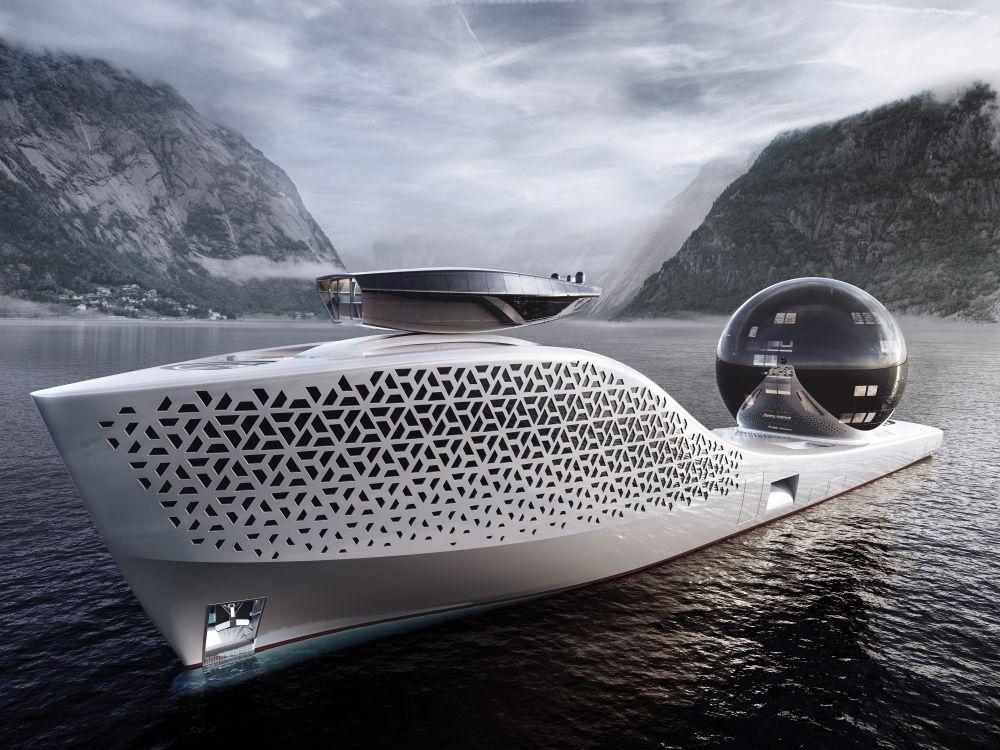 Пока судно еще не построено. Ожидается, что его соберут и спустят на воду в 2025 году