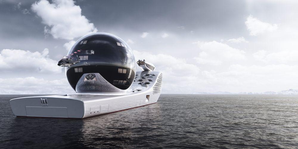 Длина судна составит 300 метров, что превышает длину «Титаника», которая была 269 метров