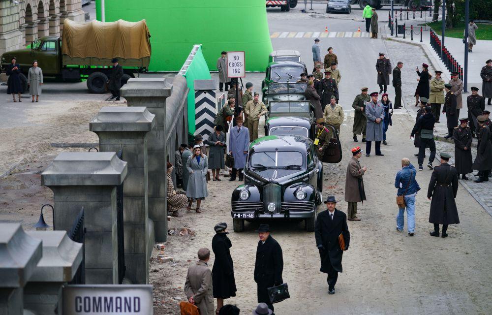 Съёмки исторического фильма «Нюрнберг»