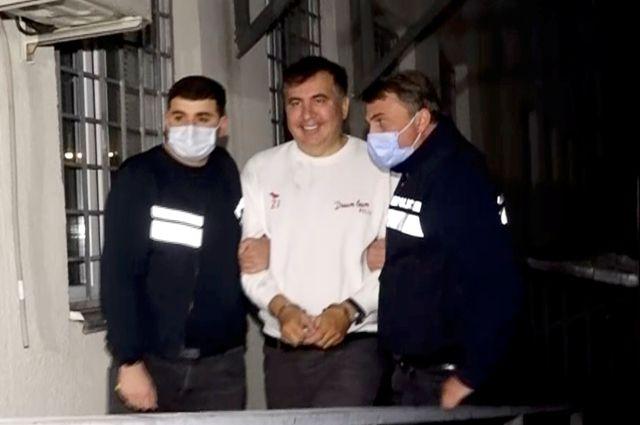 Задержание бывшего президента Грузии Михаила Саакашвили.