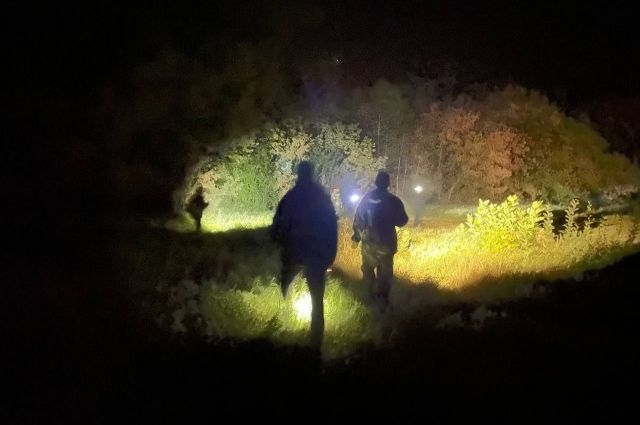 Поиски мальчика, в которых участвовали более 150 человек, продолжались около девяти часов
