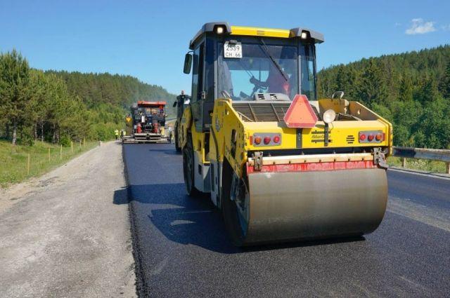 Всего в этом году отремонтируют 167 километров автомобильных дорог.