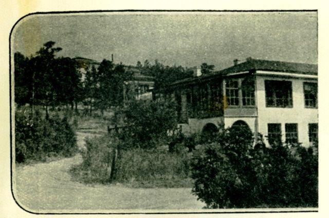 Главный корпус санатория «Боровое».