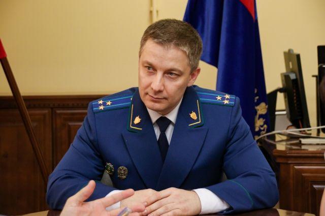 Антон Герман стал прокурором Алтайского края в июле 2021 года.