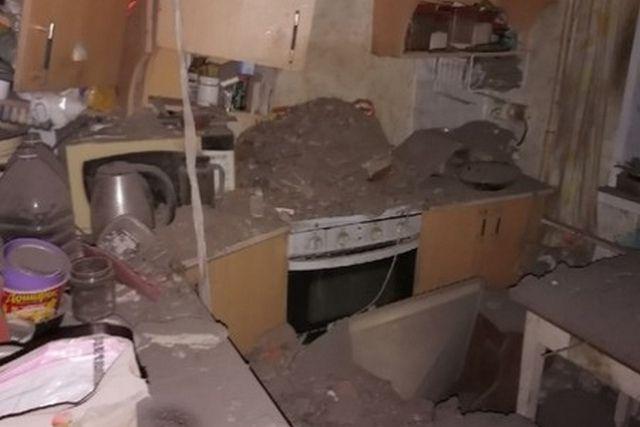 На кухне был сделан вполне нормальный ремонт