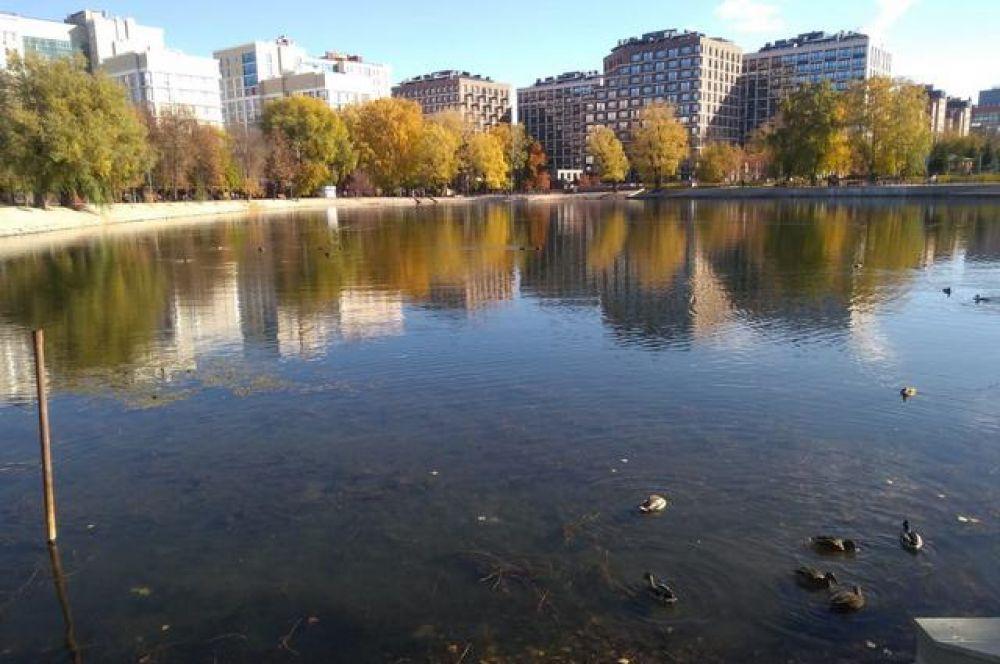 Солдатское озеро в парке Якутова.