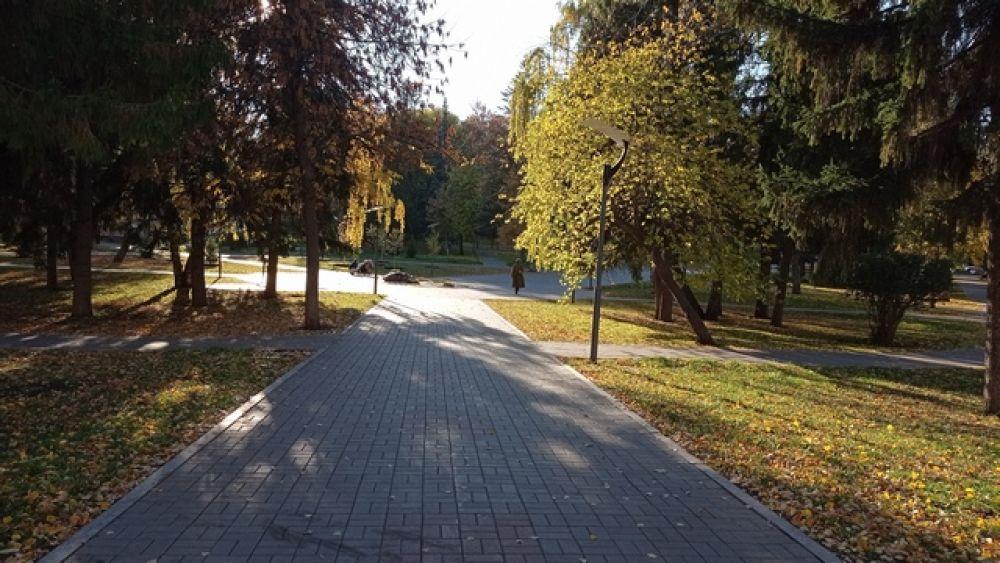 Сквер Маяковского в Уфе