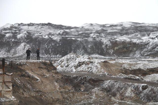 Отвальное поле в Северной Осетии.