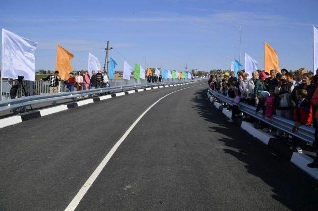 Открытие нового моста в Калачинске.