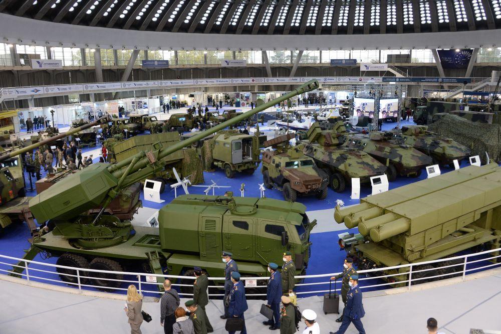 Международная выставка вооружения и военной техники PARTNER-2021 в Белграде