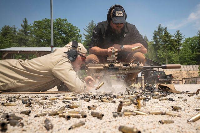 Прототип ручного пулемёта Next Generation Squad Weapon NGSW-AR.