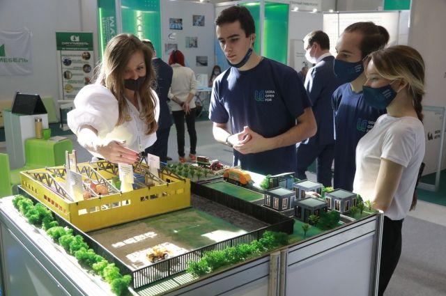 Инновационные разработки представили около 50 компаний и научных центров