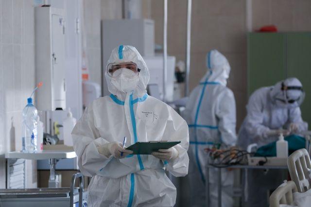 В Оренбуржье за сутки выявили 383 новых случая заражения COVID-19.
