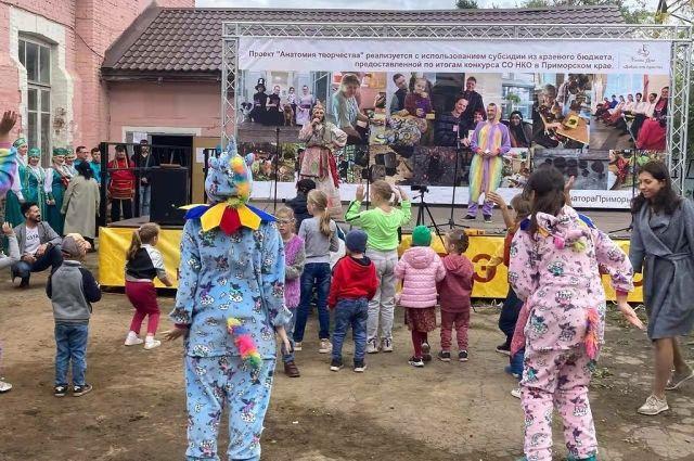 Фестиваль собрал ребят разных возрастов.