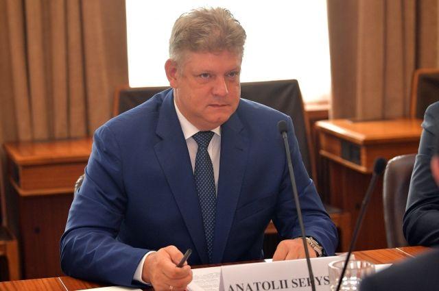 Анатолий Серышев родом из Иркутской области.