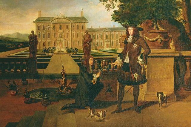 Карл II. Картина художника Джона Роуза.