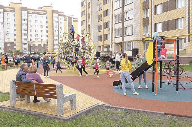 Сквер «Подсолнух» пользуется большой популярностью у местных жителей.