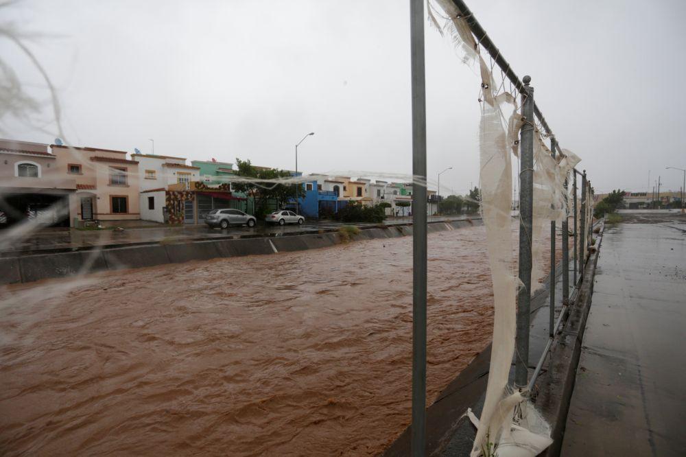Последствия урагана «Памела» на западном побережье Мексики