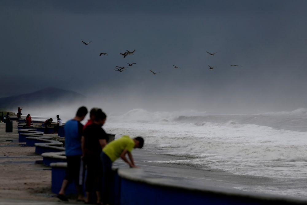 Ураган «Памела» на западном побережье Мексики