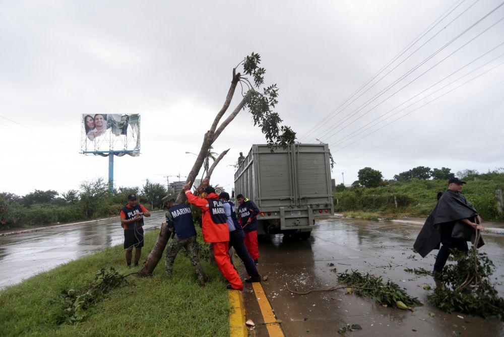 Ликвидация последствий урагана «Памела»