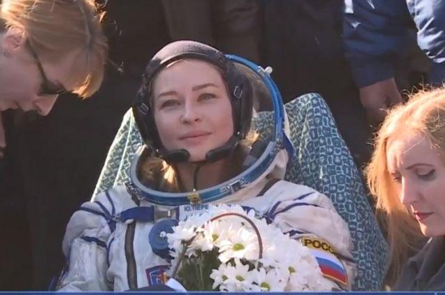 Актриса Юлия Пересильд.