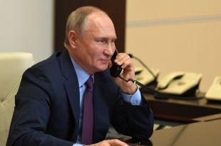 Путин пригласил Беннета посетить Санкт-Петербург